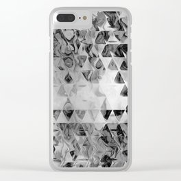 Triangle Universe Ink Clear iPhone Case