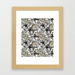 Exotic patchwork. Framed Art Print