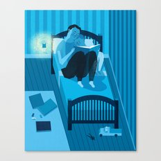 Bed Time Canvas Print