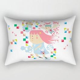 Polypop FlyGirl Rectangular Pillow
