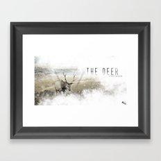 The Deer II Framed Art Print