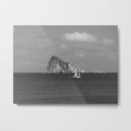 Lisca Bianca Sailing Metal Print
