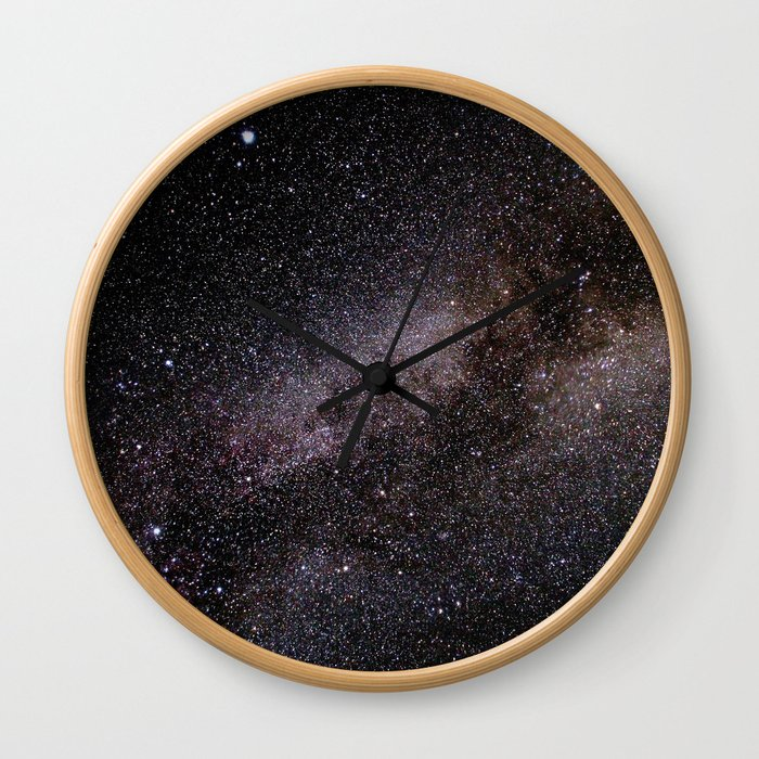 The Milky Way Wall Clock
