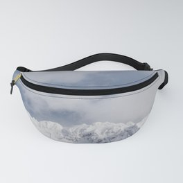 Winter Mountainscape Fanny Pack