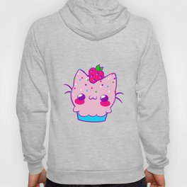 Kawaii Cupcake Cat Hoody