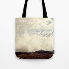 Live Breathe Travel - Mt Etna, Italy Tote Bag