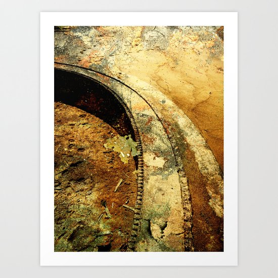 The path in life..... Art Print