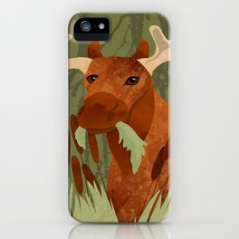 Moose Munch iPhone Case