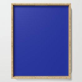 Walmart blue (1981–1992) - solid color Serving Tray