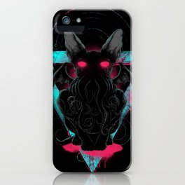 Cathulhu iPhone Case