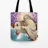 posters Tote Bags featuring Inspirational Posters/Cards by Regina Caeli Art