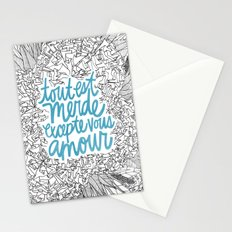 Excepte Vous Amour Stationery Cards
