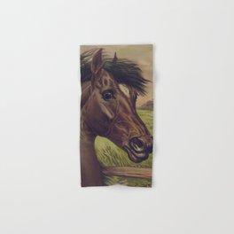 Vintage Horse Illustration (1893) Hand & Bath Towel