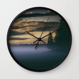 Turning point Wall Clock