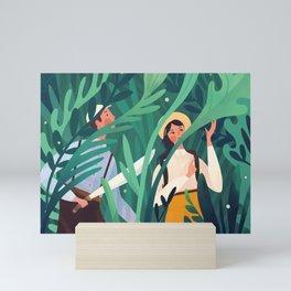 Botanist Mini Art Print
