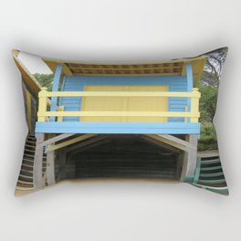 Blue Bathing Box Rectangular Pillow