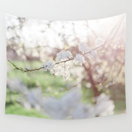 And then she bloomed. Wall Tapestry