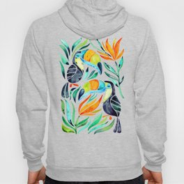 Tropical Toucans Hoody