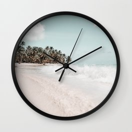 Saona Island Dominican Republic Wall Clock