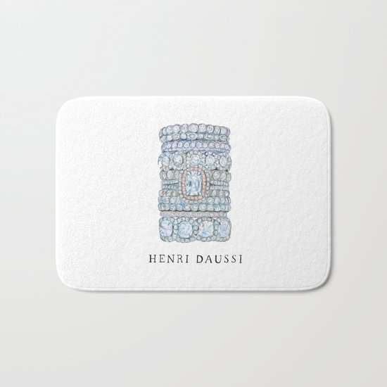 Henri Daussi Bath Mat