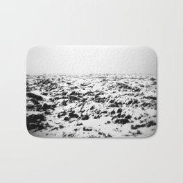 Snowy horizon Bath Mat