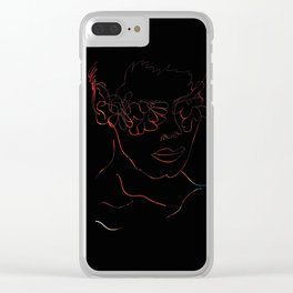 Only Human Clear iPhone Case