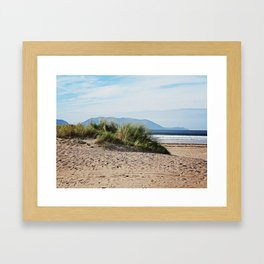Inch Beach Framed Art Print