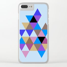 Abstract #793 Clear iPhone Case