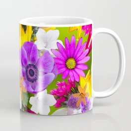 Flower mess - Pink Chaos Coffee Mug