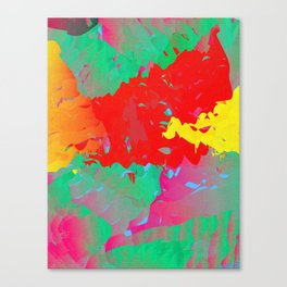 Abstract Paint Gradient Canvas Print