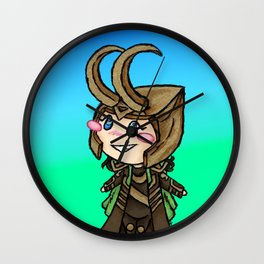 Puny Diety Wall Clock