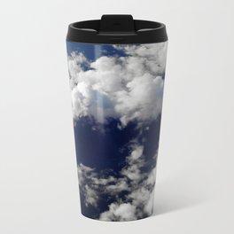 Flying over sea Metal Travel Mug