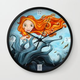 The Dryad of the King-Tree Wall Clock