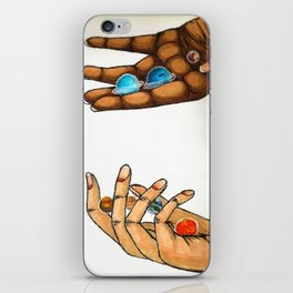 Who Controls The Universe? iPhone Skin