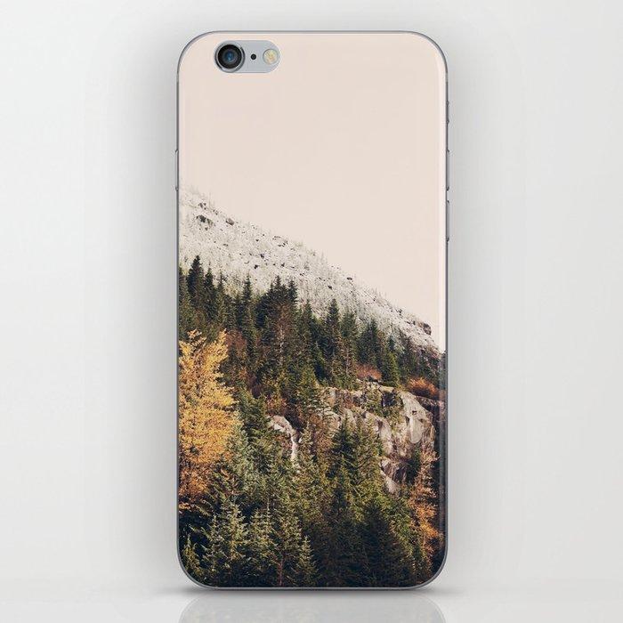 Winter Mountain Morning iPhone Skin