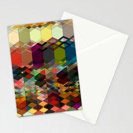 Triangle affair Stationery Cards