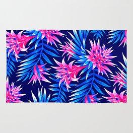 Aechmea Fasciata - Mid Blue/Pink Rug