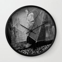 Rainles Skies Wall Clock
