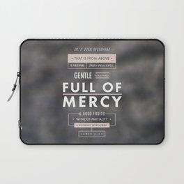 James 3:17 Laptop Sleeve