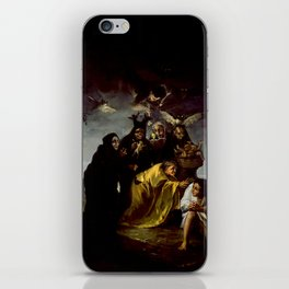 THE WITCHES SPELL - FRANCISCO GOYA iPhone Skin