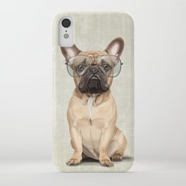 Mr French Bulldog iPhone Case