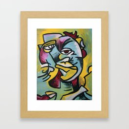 Mixed Feelings Framed Art Print