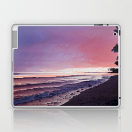 Maui Sunset Pixel Sort Laptop & iPad Skin