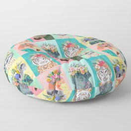 Wild Spirit Floor Pillow