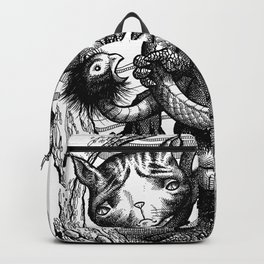 Beeky & Fluff at Play Backpack