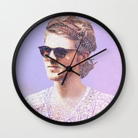 lyrics Wall Clocks featuring Lyrics  by Clara J Aira