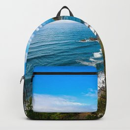 Pacific View - Coastal Scenery in Washington State Backpack