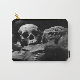 Aztec Skull Carry-All Pouch
