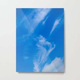 Man in the Clouds Metal Print