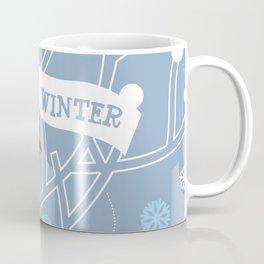 4 Seasons - Winter Coffee Mug